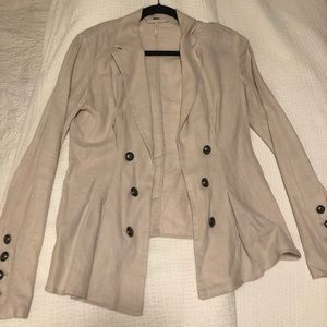 Free People Light Pink Blazer